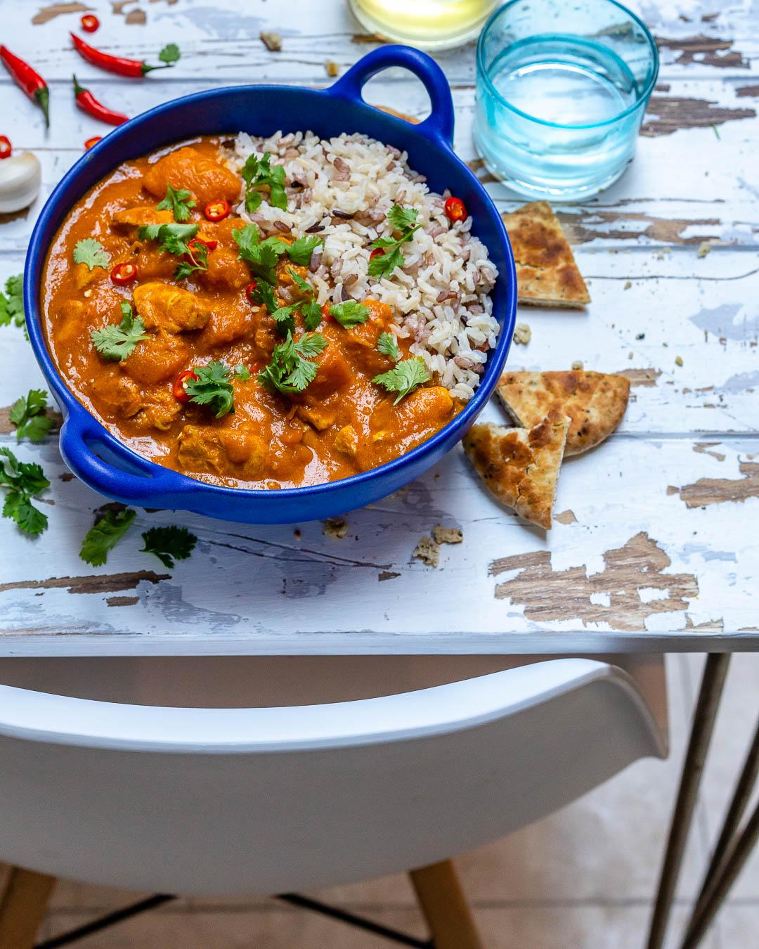 Curry De Pui Cu Lapte De Cocos Si Dovleac - Reteta Video 3