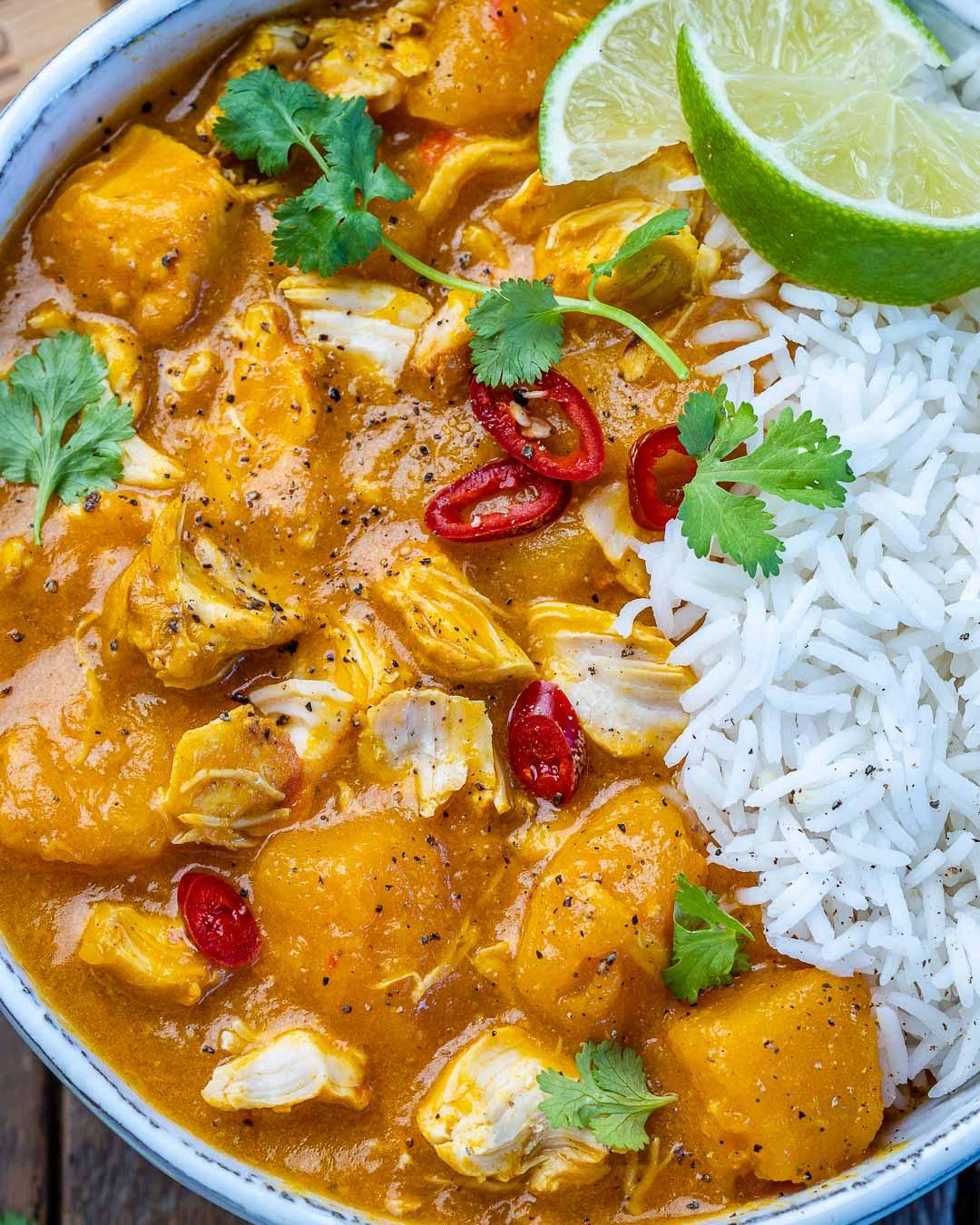 Instant Pot Pumpkin Chicken Curry With Coconut Milk - 14