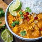 Instant Pot Pumpkin Chicken Curry With Coconut Milk - 19