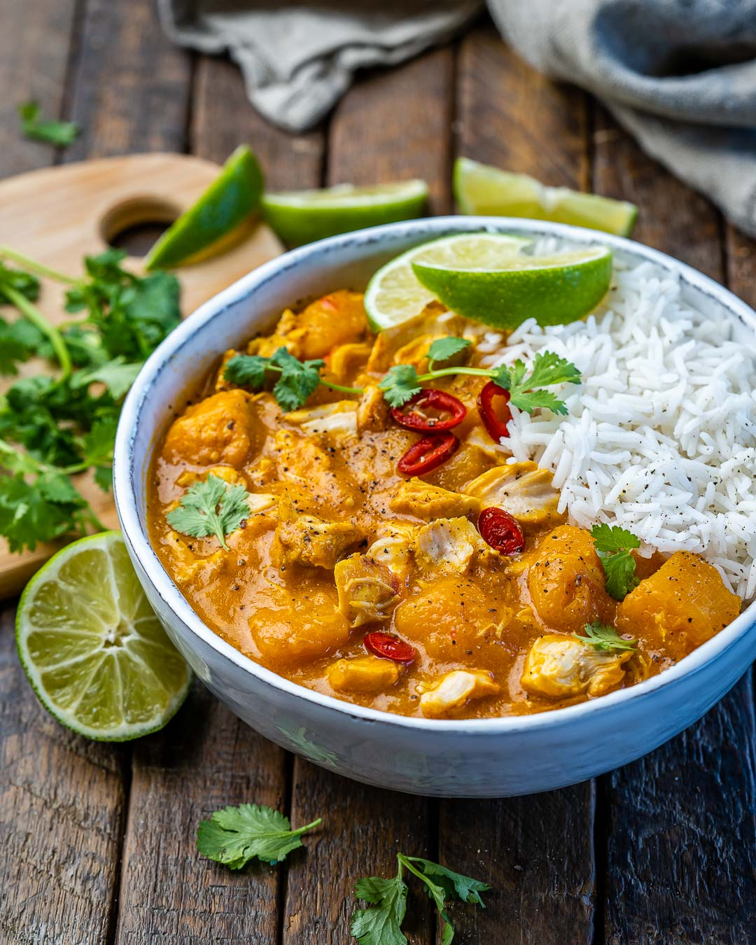 Instant Pot Pumpkin Chicken Curry With Coconut Milk - 20