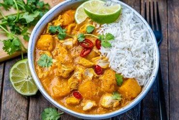 Instant Pot Pumpkin Chicken Curry With Coconut Milk - 21