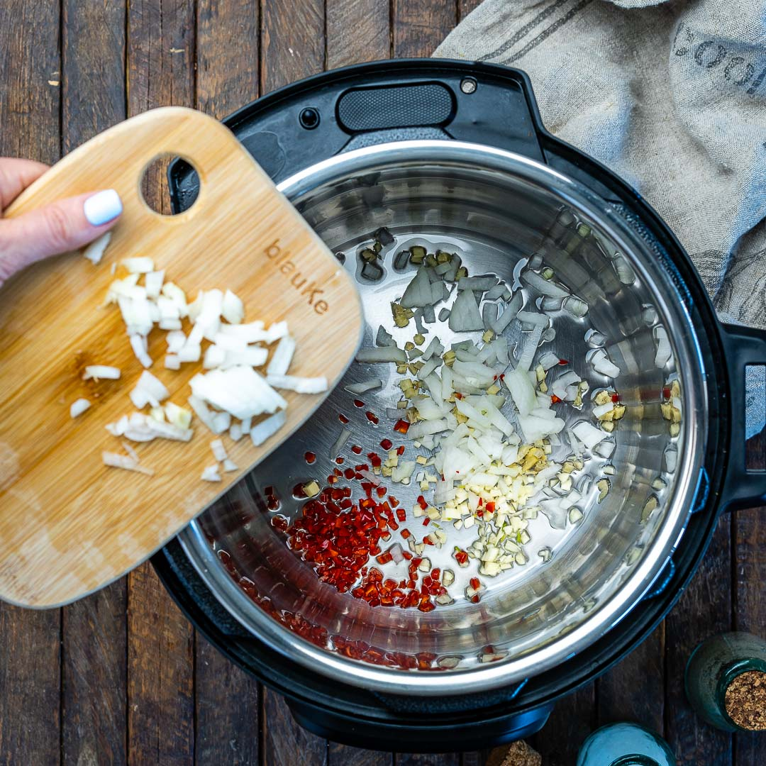 Instant Pot Pumpkin Chicken Curry With Coconut Milk - 3