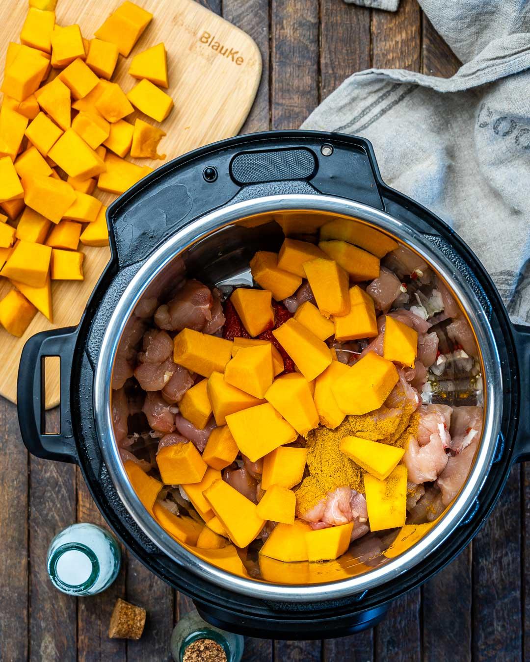 Instant Pot Pumpkin Chicken Curry With Coconut Milk - 6