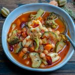 Instant Pot Vegan Minestrone Soup Recipe-11