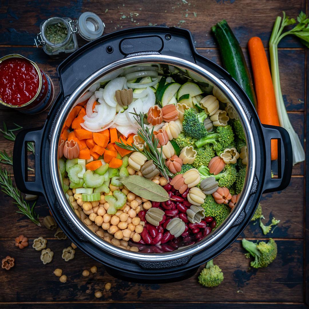 Supa Minestrone La Multicooker Instant Pot 1