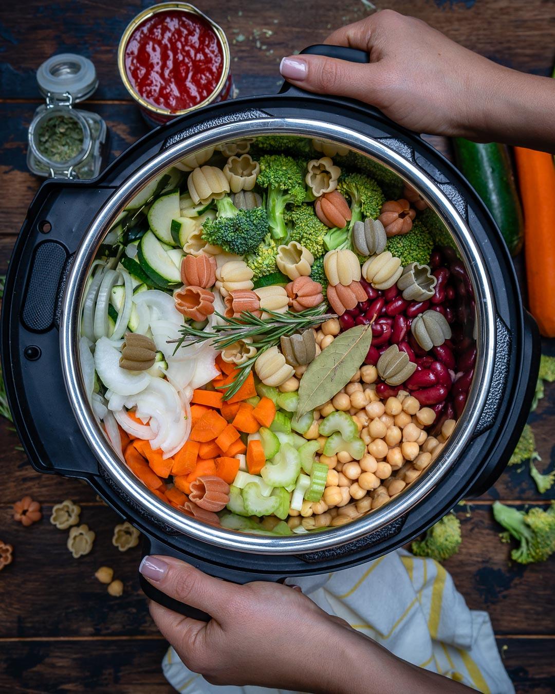 Supa Minestrone La Multicooker Instant Pot 2