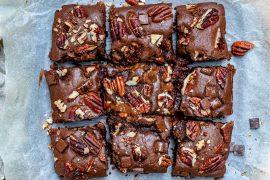 Reteta De Brownie Cu Nuci (Negrese Americane Pufoase Si Cremoase) 8