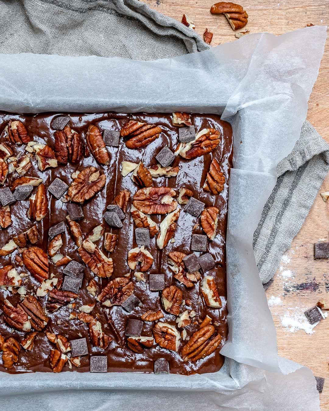 Easy Vegan Chocolate Brownies