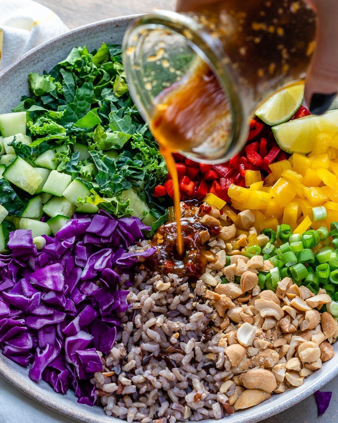 Reteta de Salata De Orez Si Legume 4