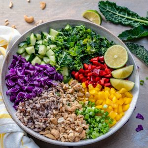 Vegan Thai Rice Salad Recipe-5