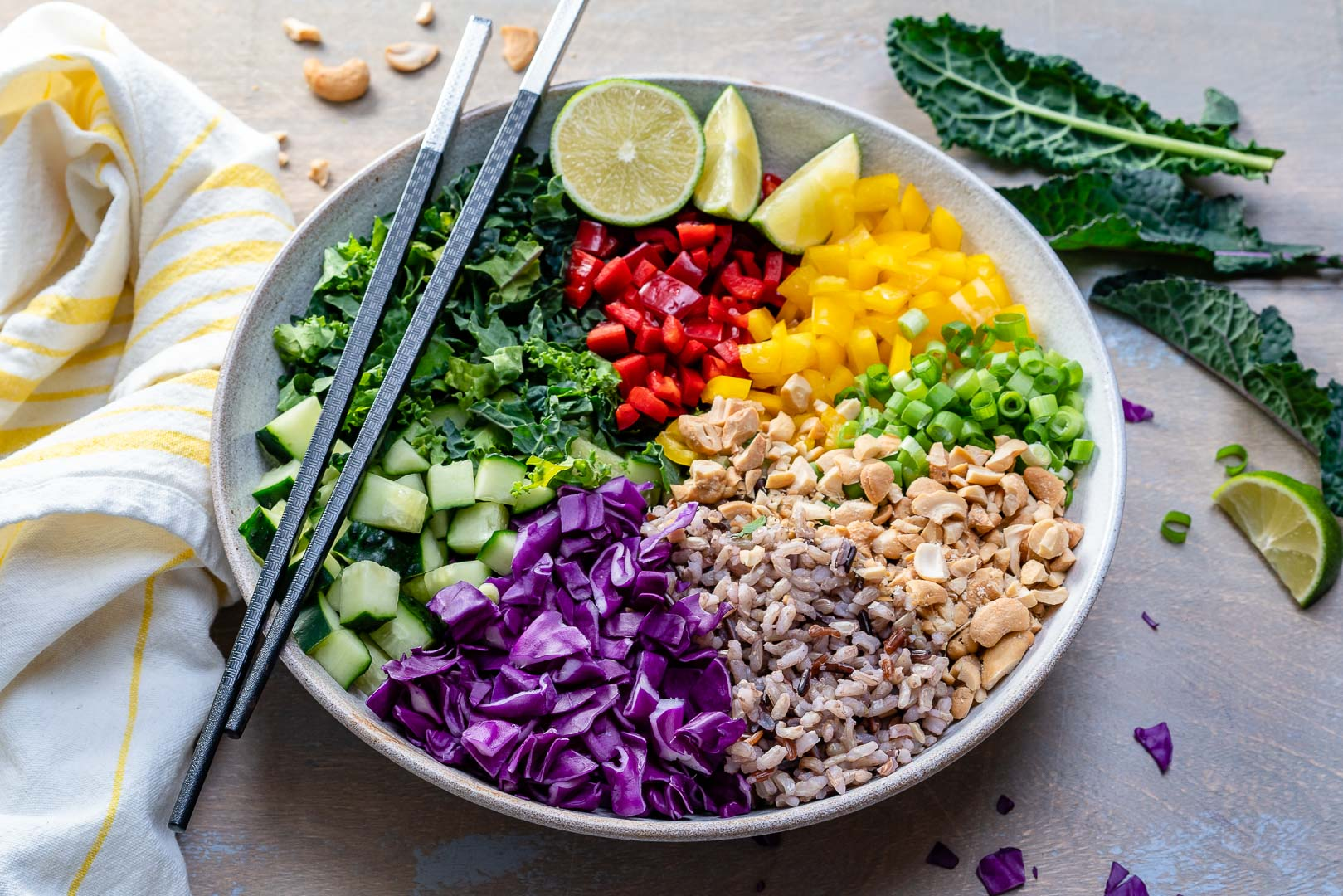 Vegan Thai Rice Salad Recipe-9