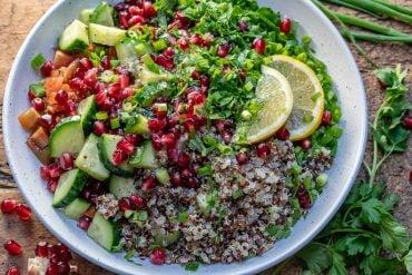 Quinoa Tabbouleh Salad Recipe-11