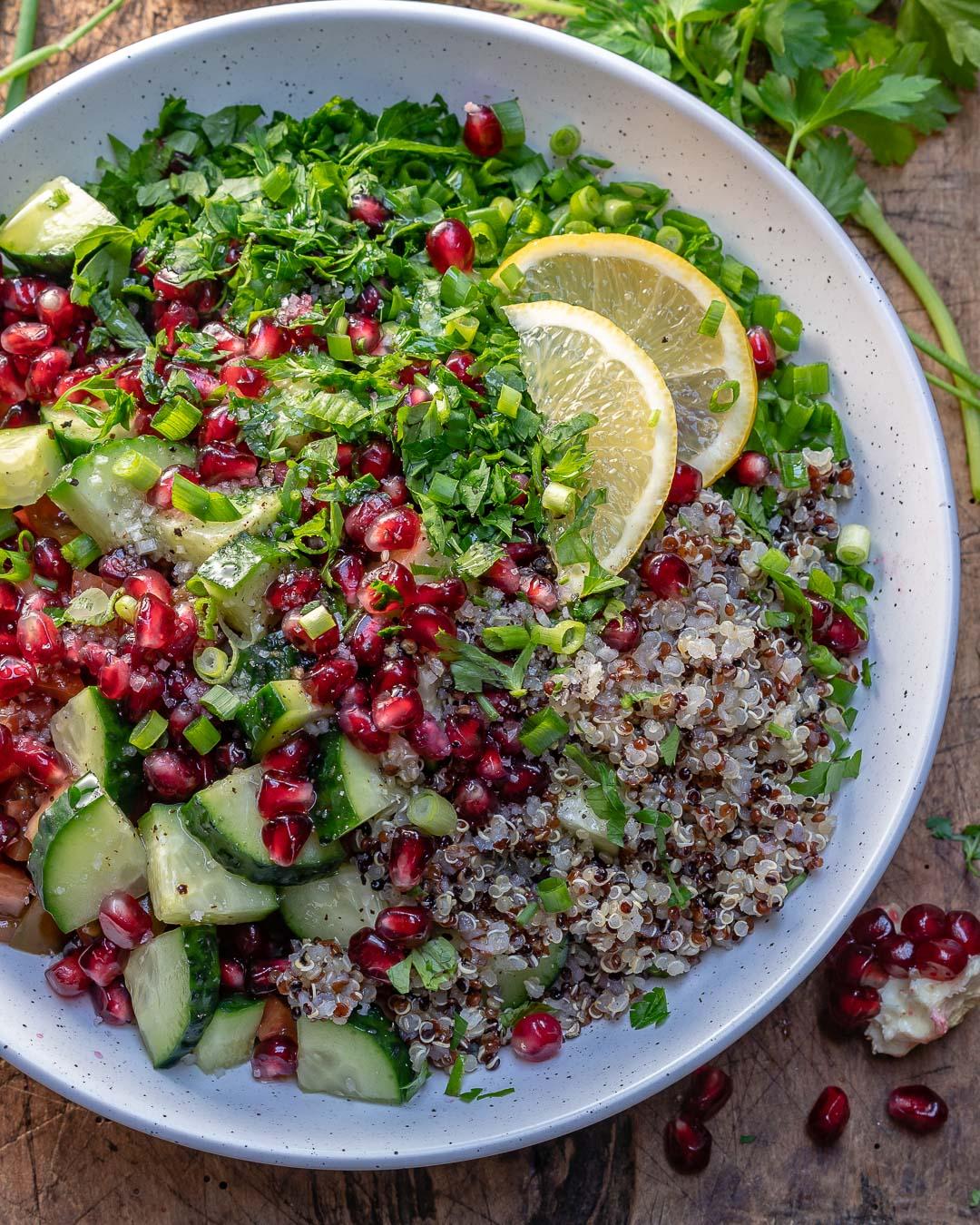 Quinoa Tabbouleh Salad Recipe-5