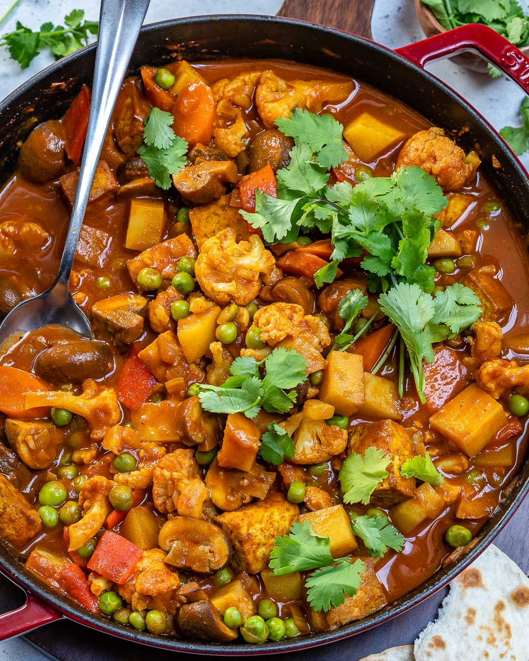 Vegan Tikka Masala Recipe With Tofu And Cauliflower-10