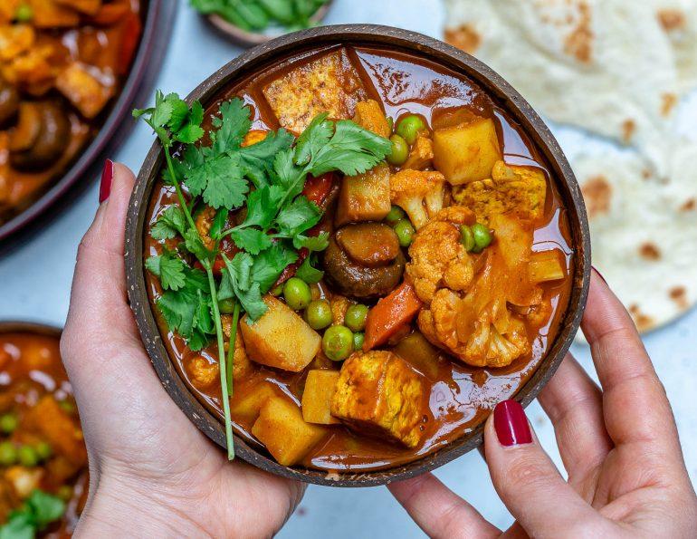 Vegan Tikka Masala Recipe With Tofu And Cauliflower-3