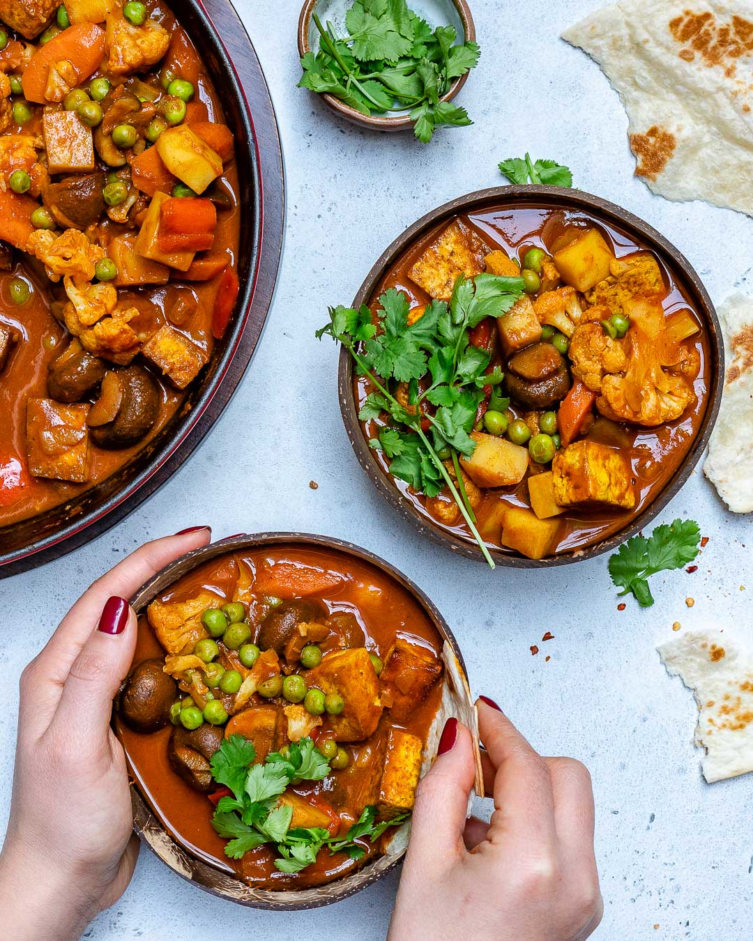 Vegan Tikka Masala Recipe With Tofu And Cauliflower-5