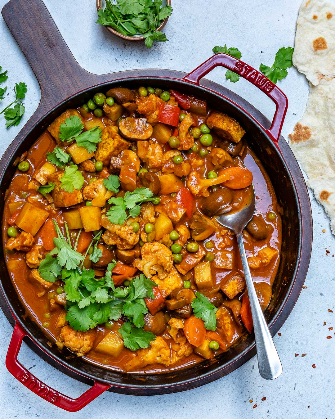 Vegan Tikka Masala Recipe With Tofu And Cauliflower-6