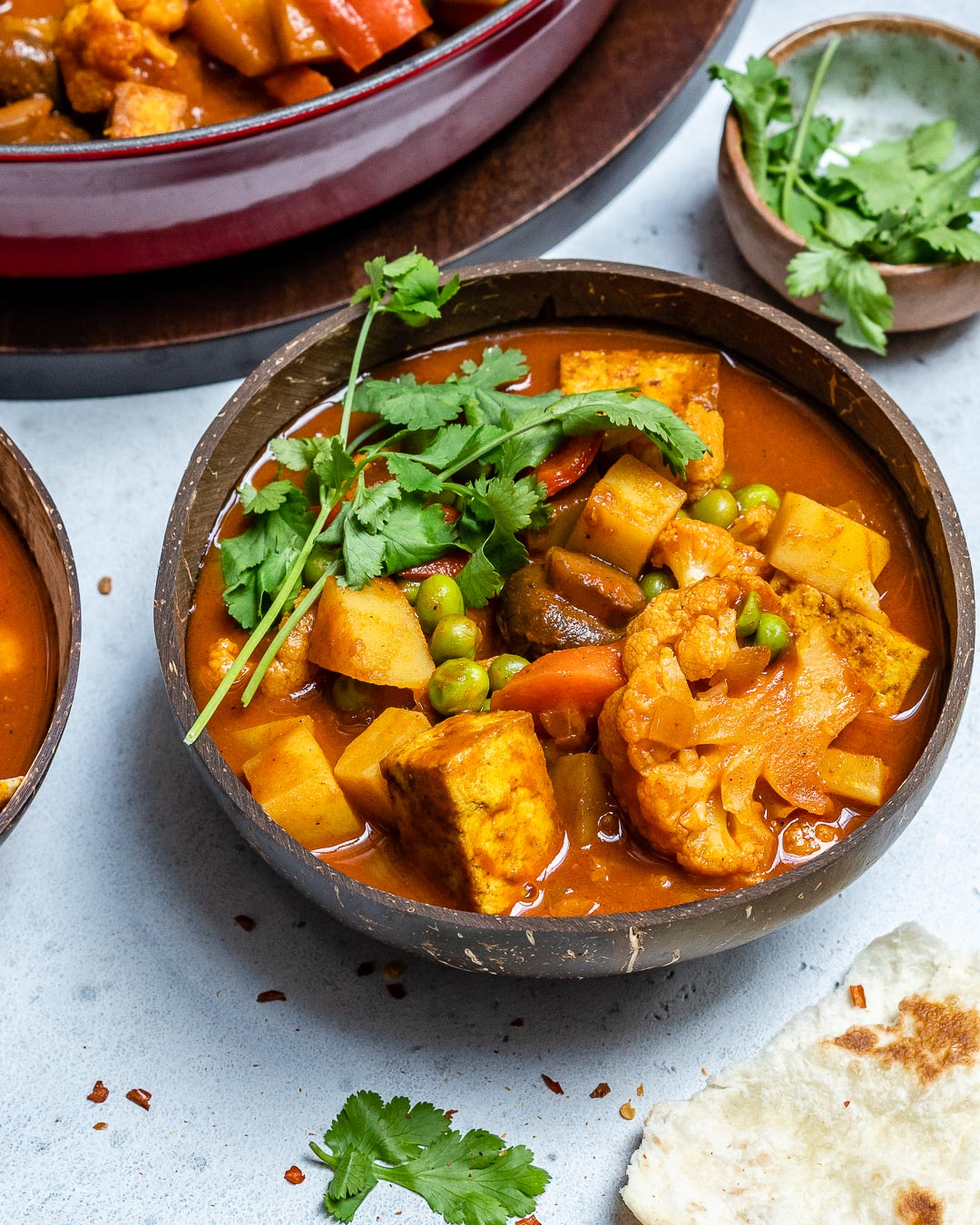 Vegan Tikka Masala Recipe With Tofu And Cauliflower-7