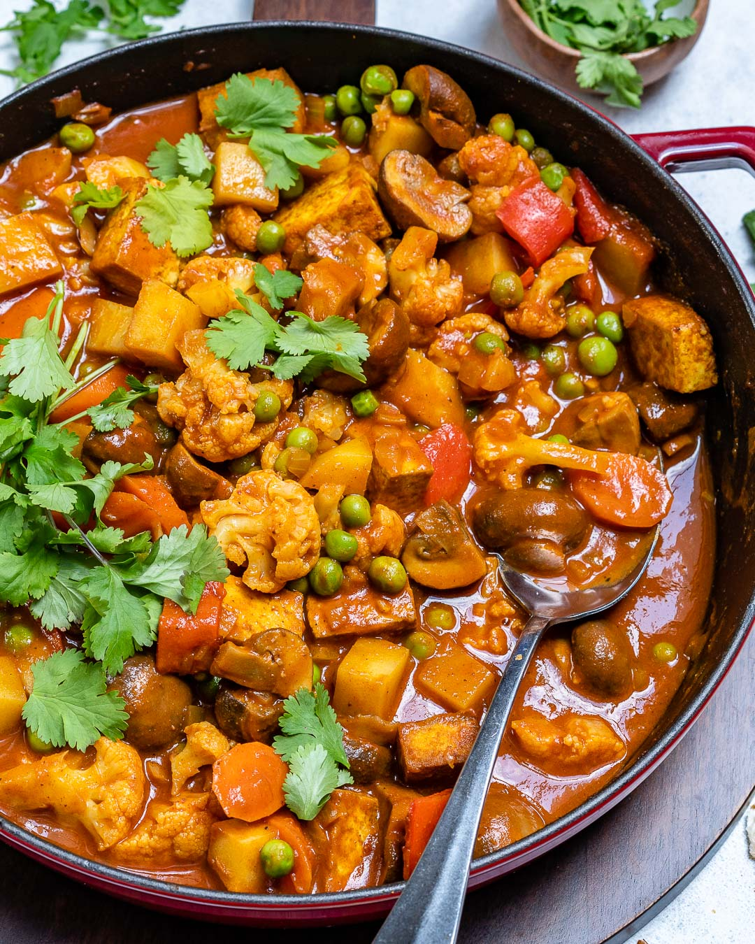 Vegan Tikka Masala Recipe With Tofu And Cauliflower-9