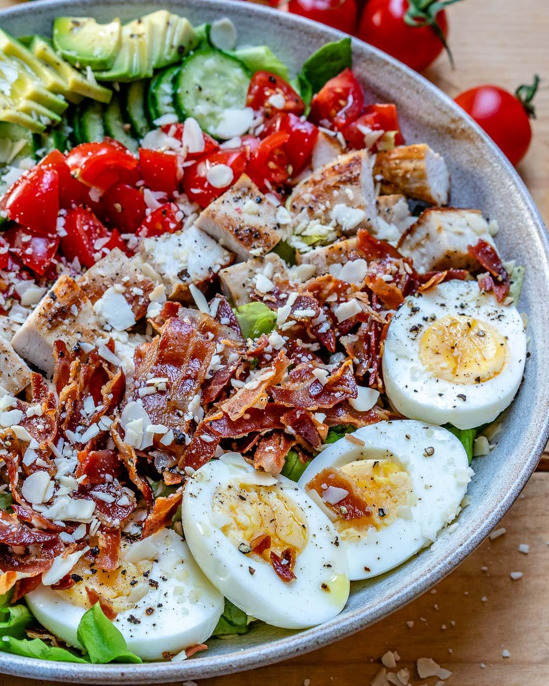 Easy Turkey Cobb Salad - Recipe Video