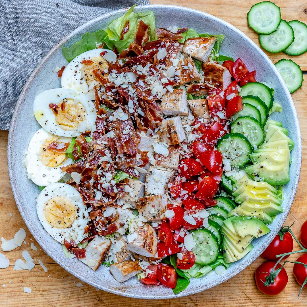 Easy Turkey Cobb Salad Recipe