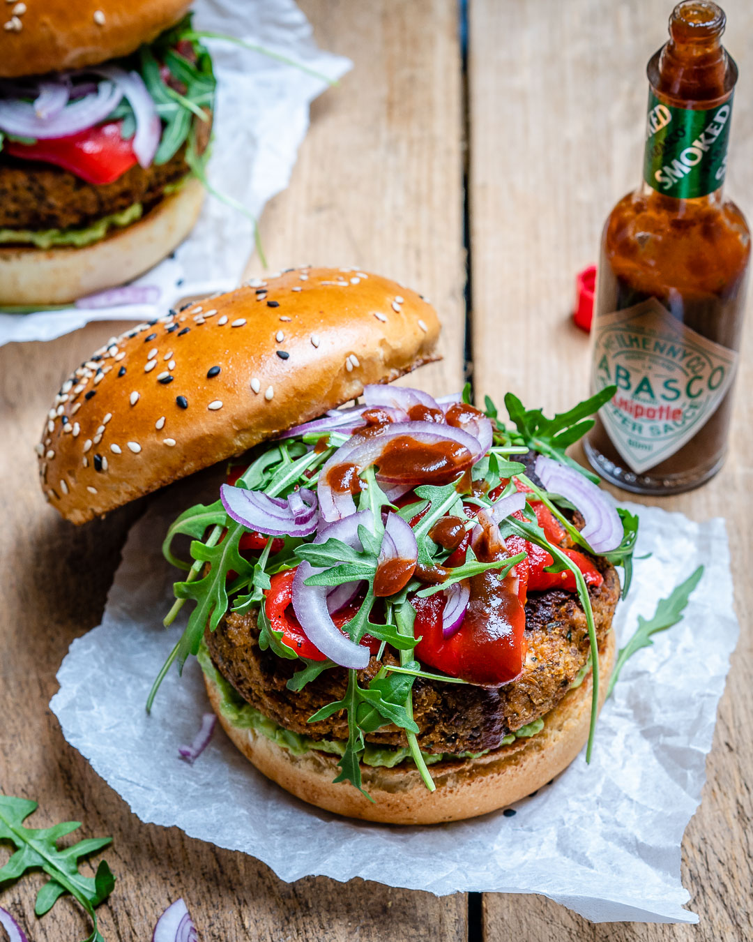 Reteta de Burger Vegan Cu Conopida Si Avocado 5