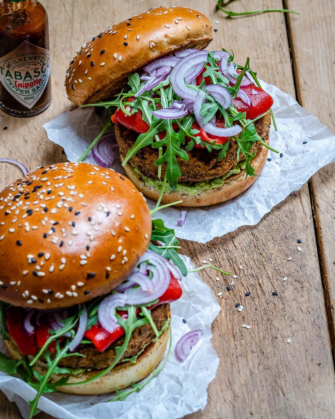 Reteta de Burger Vegan Cu Conopida Si Avocado 1