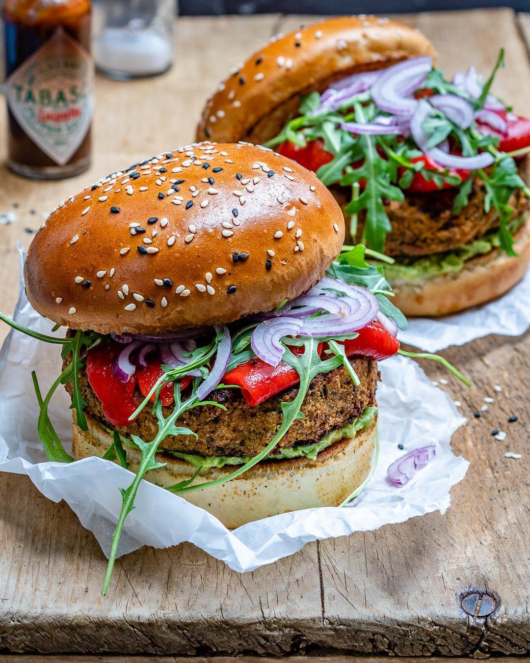 Reteta de Burger Vegan Cu Conopida Si Avocado 3