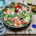 Shrimp And Avocado Salad With Cilantro And Lime Recipe-12
