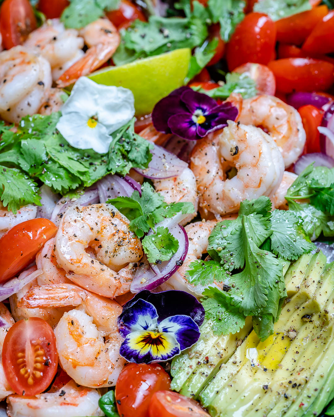 Shrimp And Avocado Salad With Cilantro And Lime Recipe-14