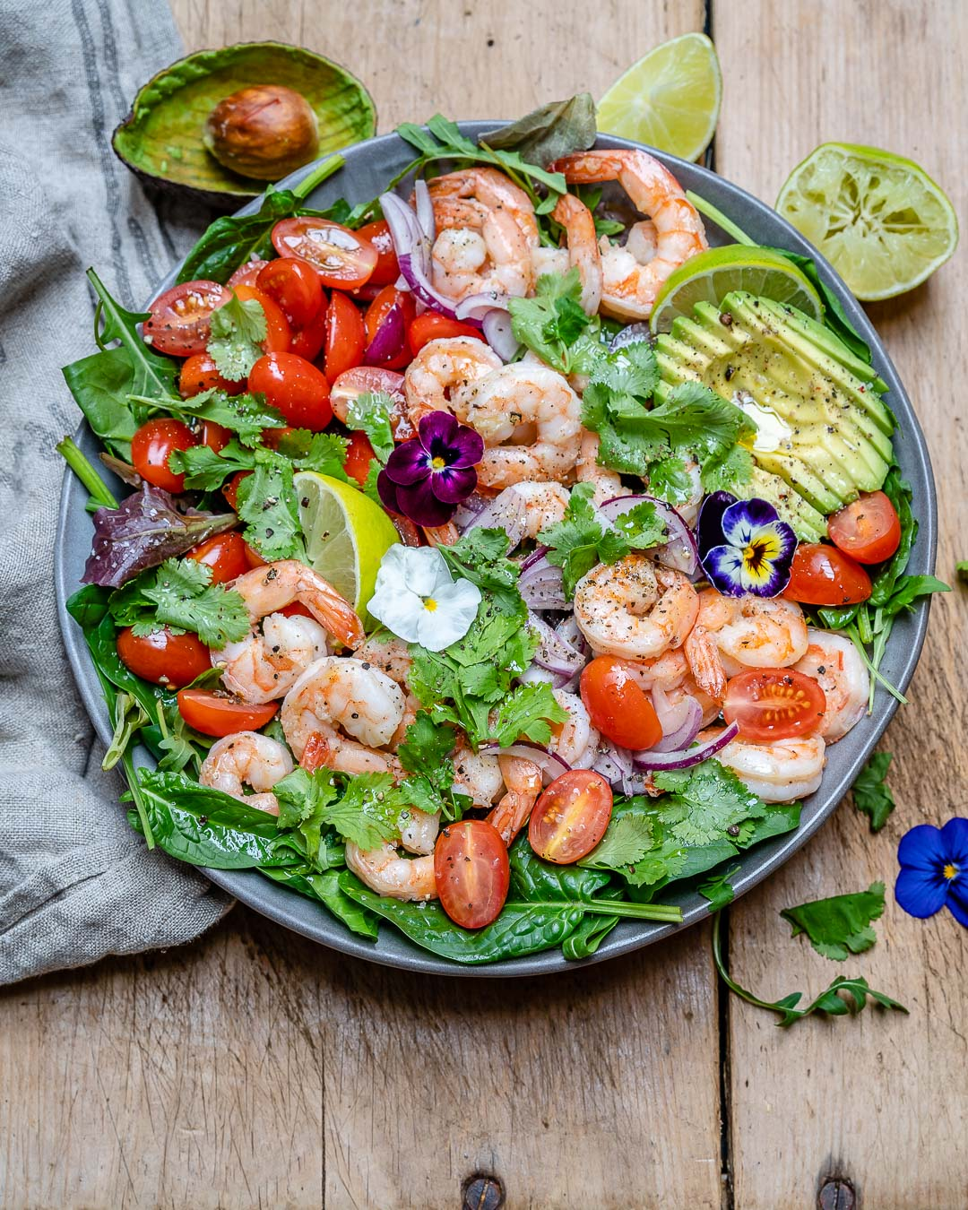 Shrimp And Avocado Salad With Cilantro And Lime Recipe-2