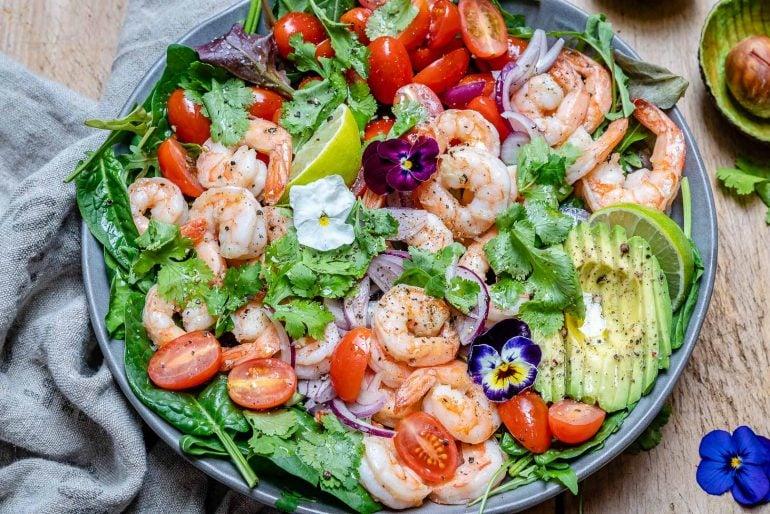 Shrimp And Avocado Salad With Cilantro And Lime Recipe-8