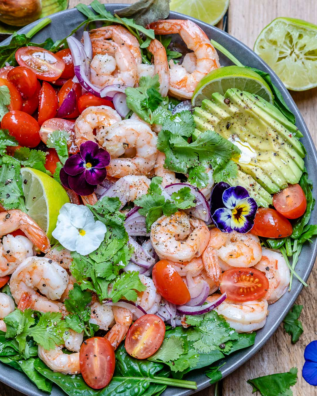 Shrimp And Avocado Salad With Cilantro And Lime Recipe