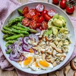 Asparagus Avocado And Tomato Salad - Easy Keto Recipe-11