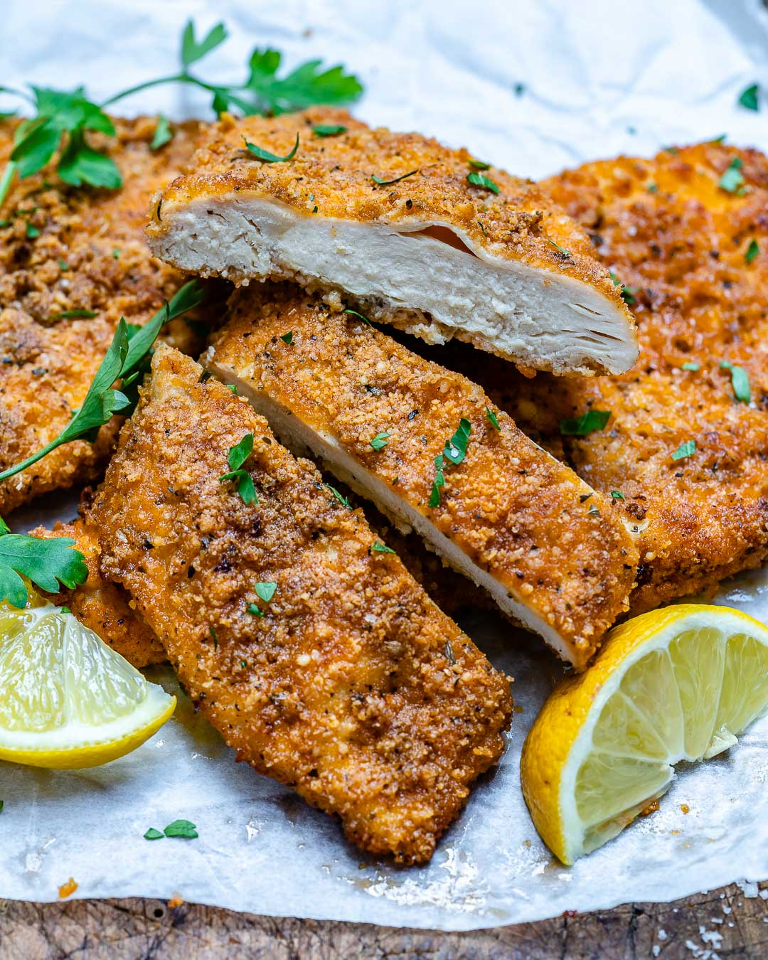 Baked Parmesan Chicken Cutlets Recipe-11