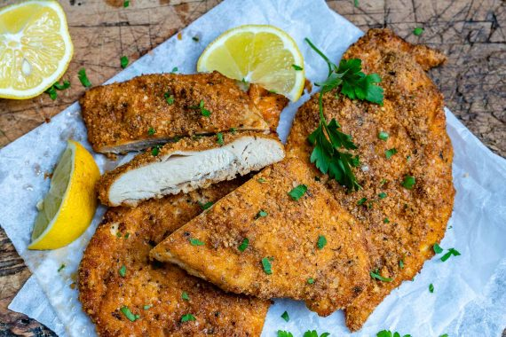 Baked Parmesan Chicken Cutlets Recipe-5