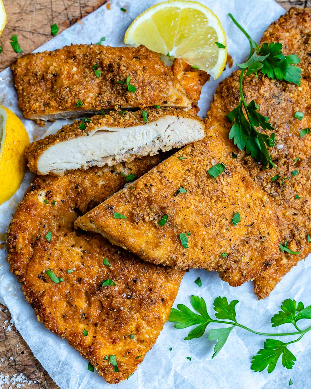 Baked Parmesan Chicken Cutlets Recipe-6