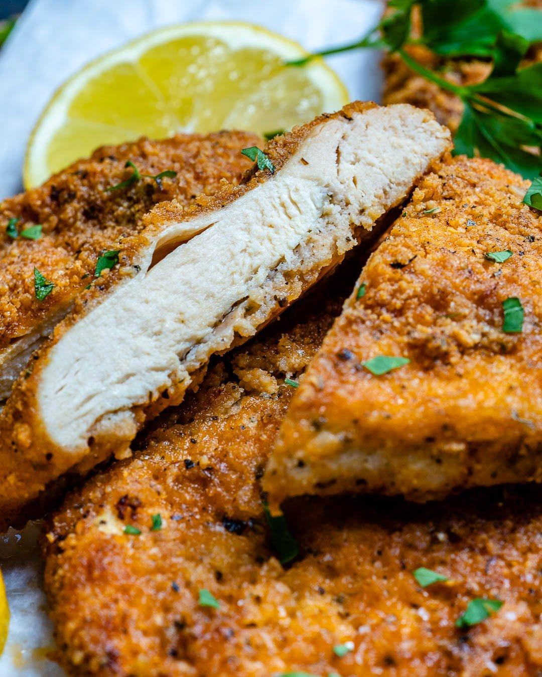 Baked Parmesan Chicken Cutlets Recipe-7