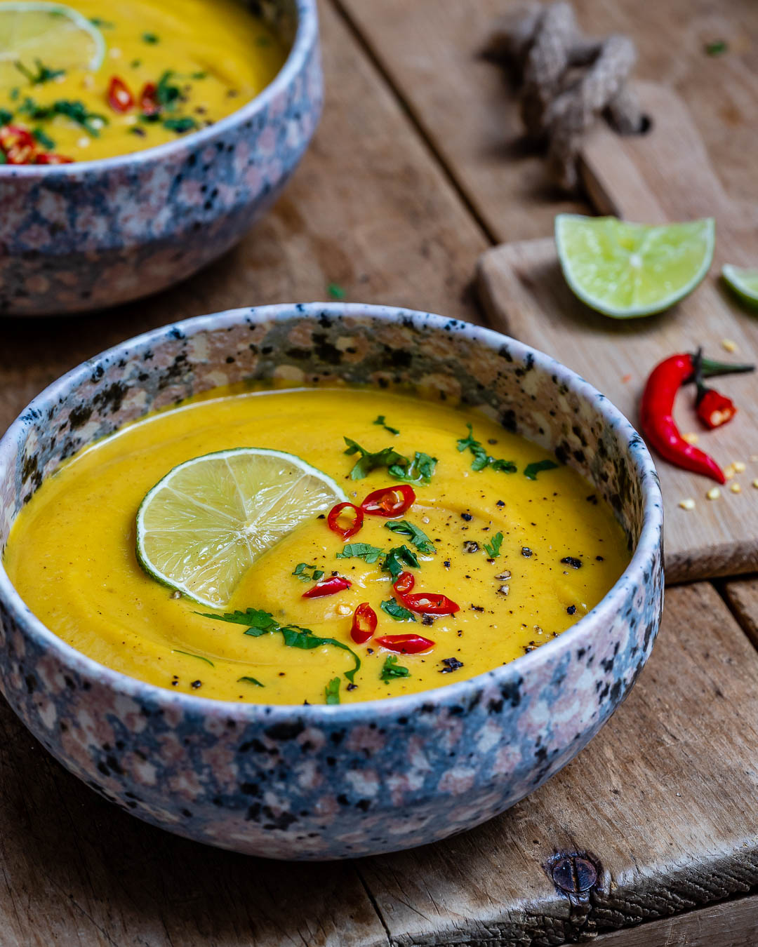Curried Cauliflower Soup With Coconut Milk (Paleo Recipe)-5