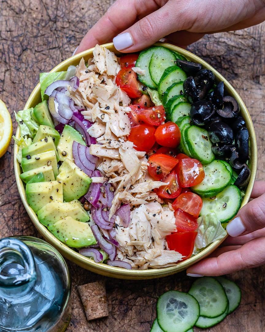 Salata De Ton Si Avocado (Reteta Paleo Si Whole30) 6