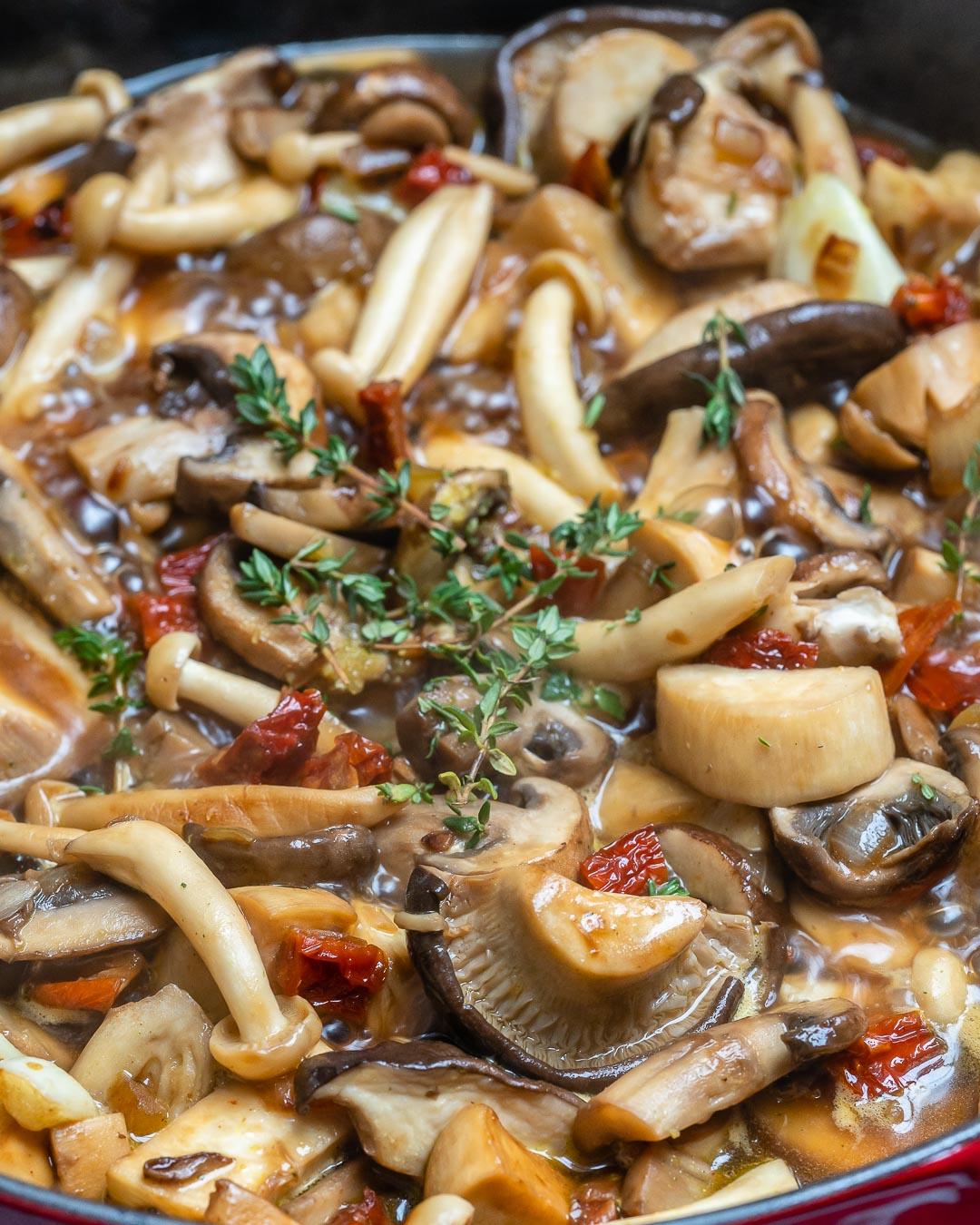 Easy Creamy Chicken Mushroom Recipe (Keto)-5