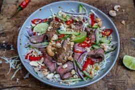 Easy Thai Beef Salad Recipe (Keto/Paleo/Whole30)-14