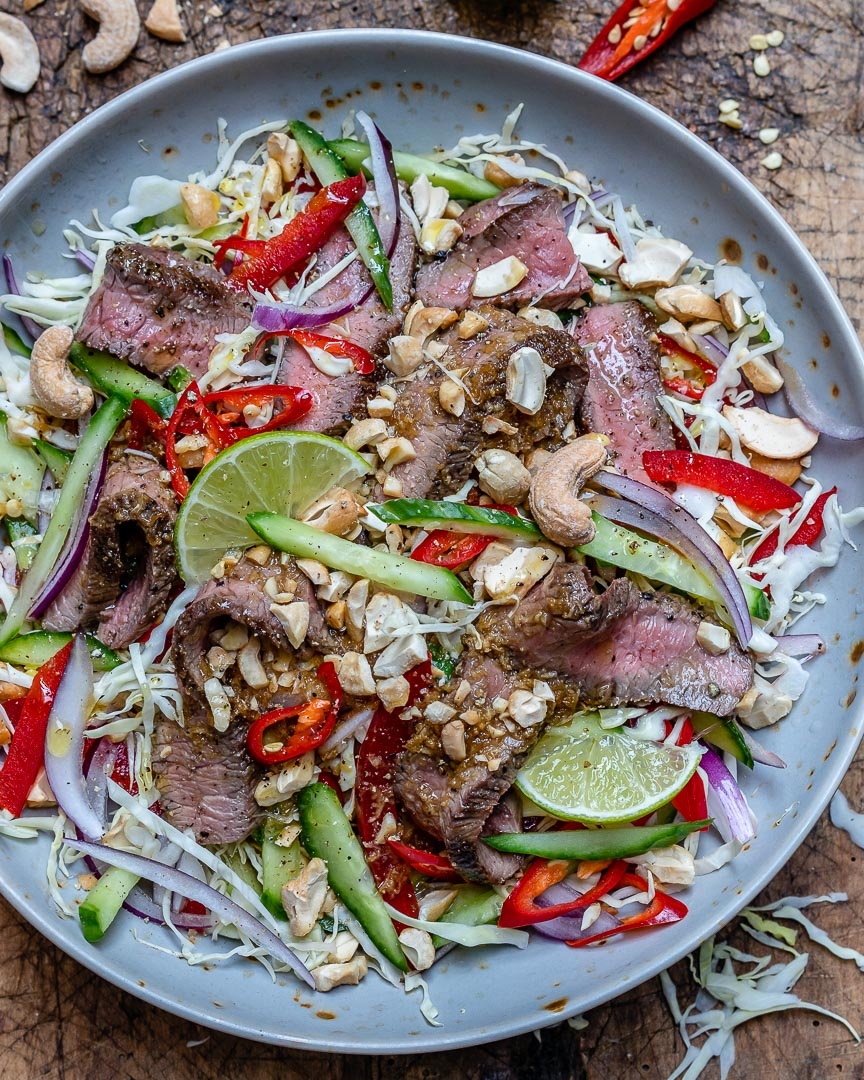 Easy Thai Beef Salad Recipe (Keto/Paleo/Whole30)-4