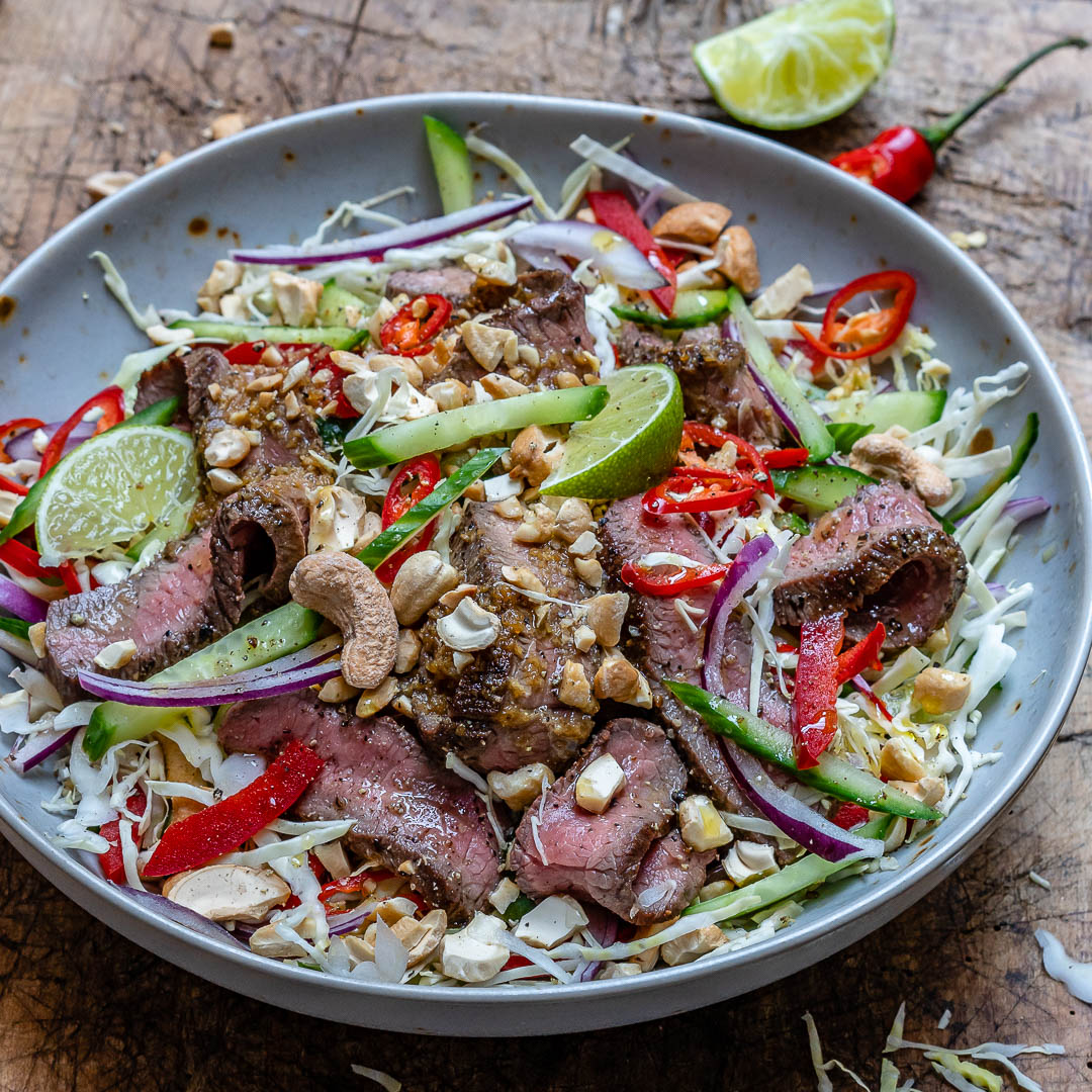 Easy Thai Beef Salad Recipe (Keto/Paleo/Whole30)-5