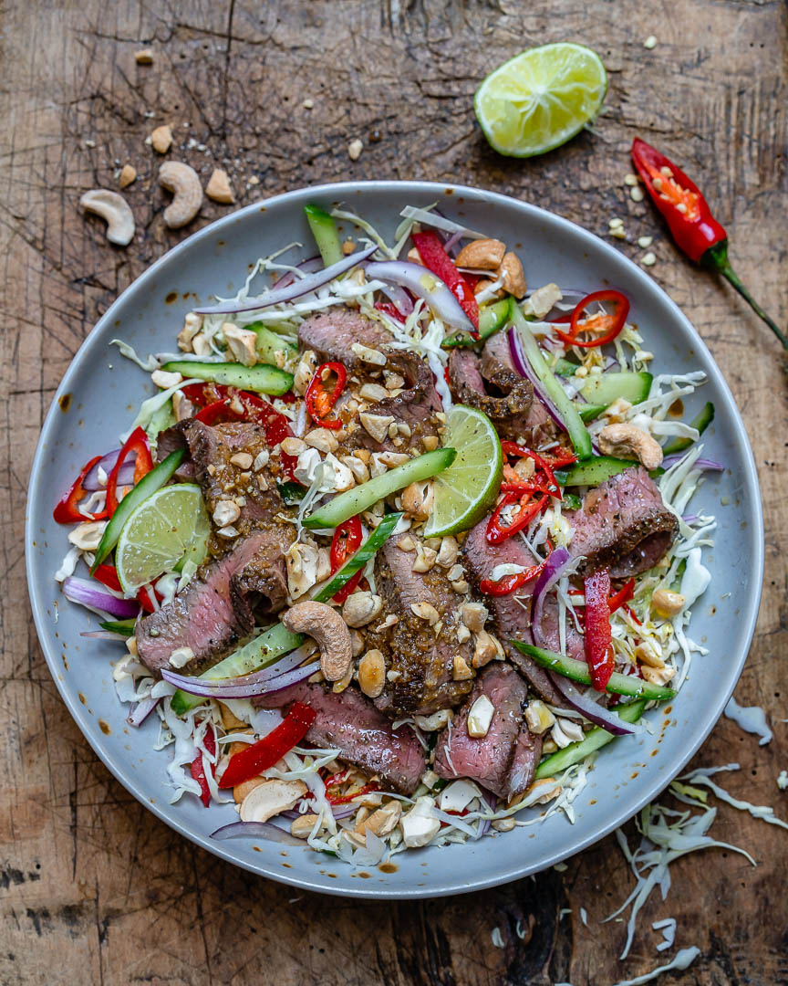 Easy Thai Beef Salad Recipe (Keto/Paleo/Whole30)-6