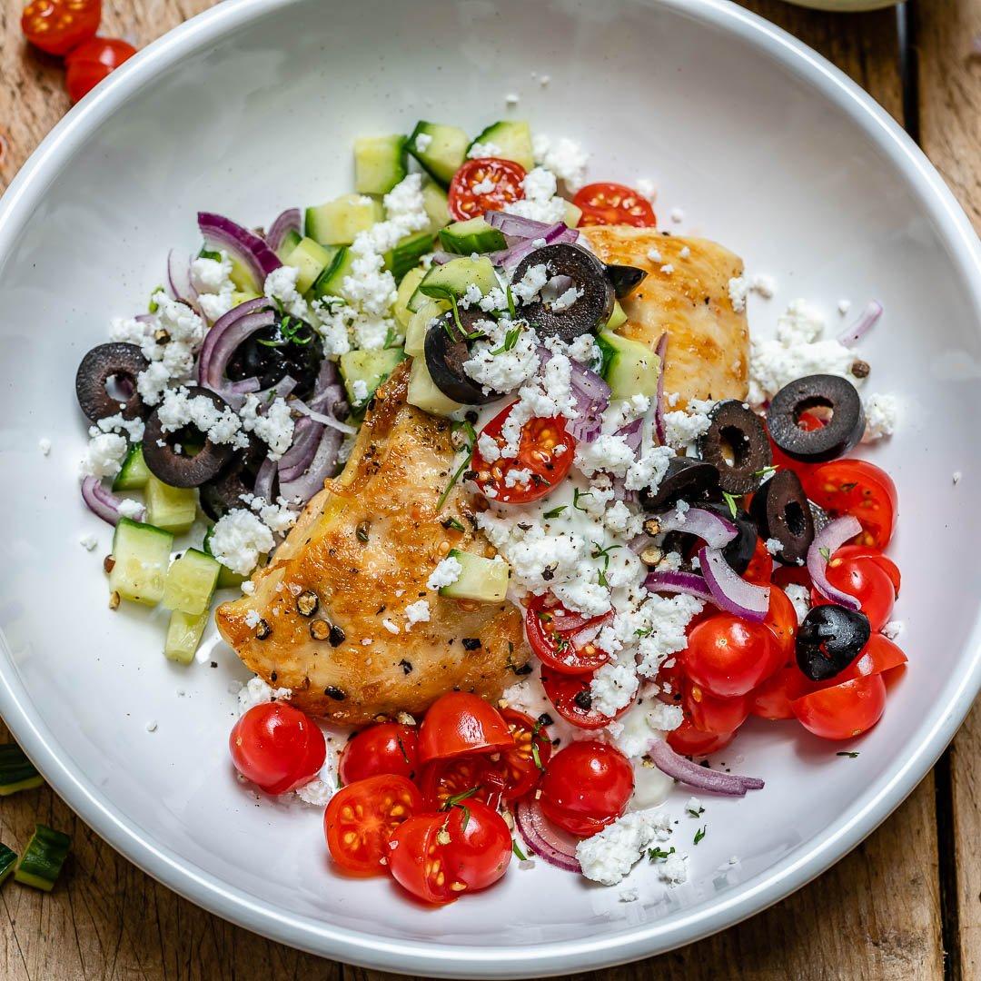 Greek Chicken With Tzatziki Sauce (Keto Recipe)-3