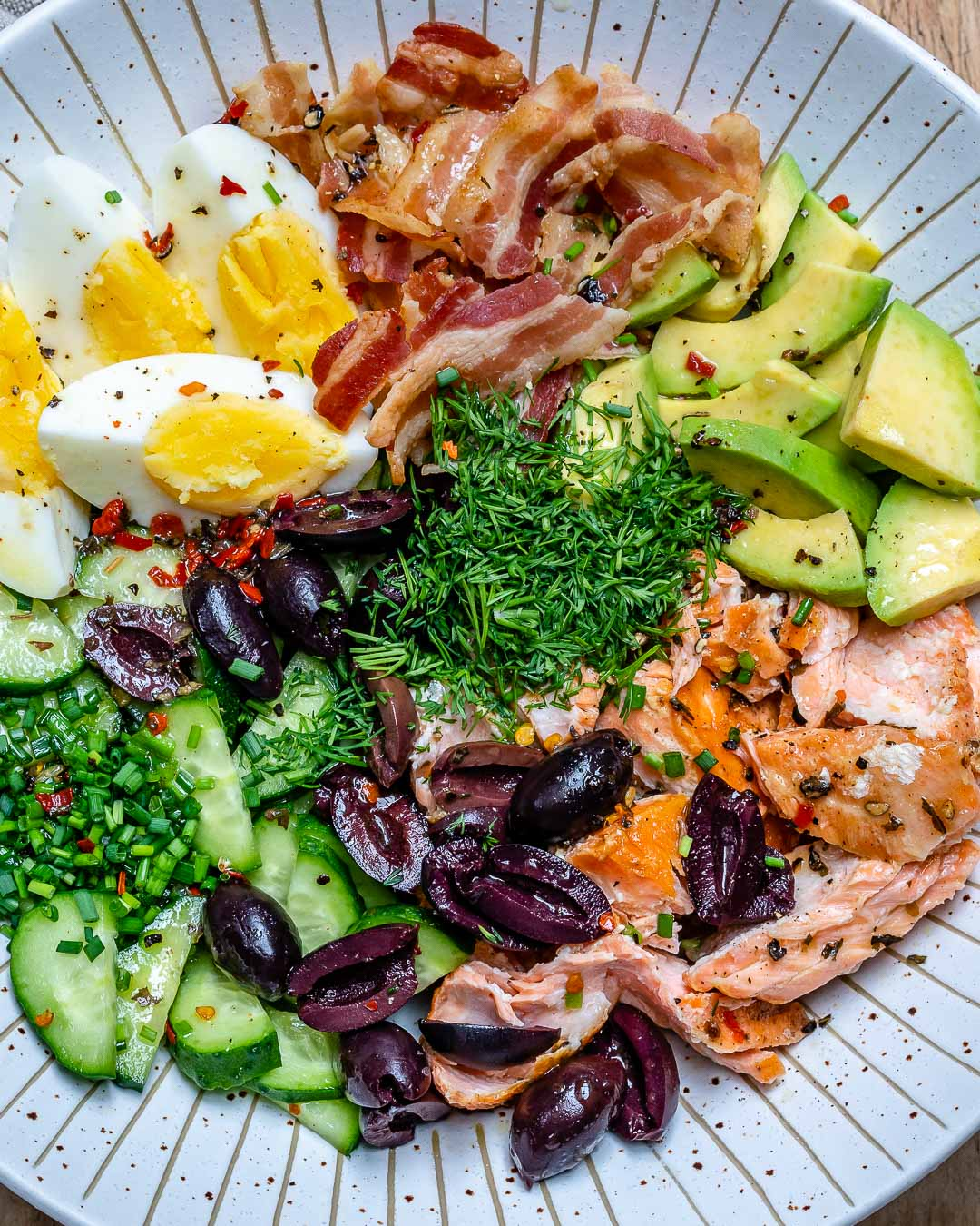 Seared Salmon Avocado Salad - Paleo / Whole30 / Keto Recipe 3