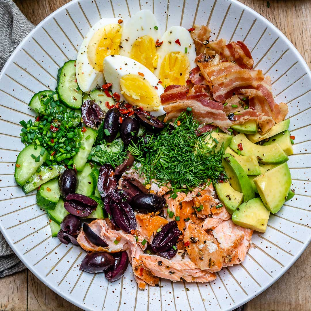 Seared Salmon Avocado Salad - Paleo / Whole30 / Keto Recipe 4