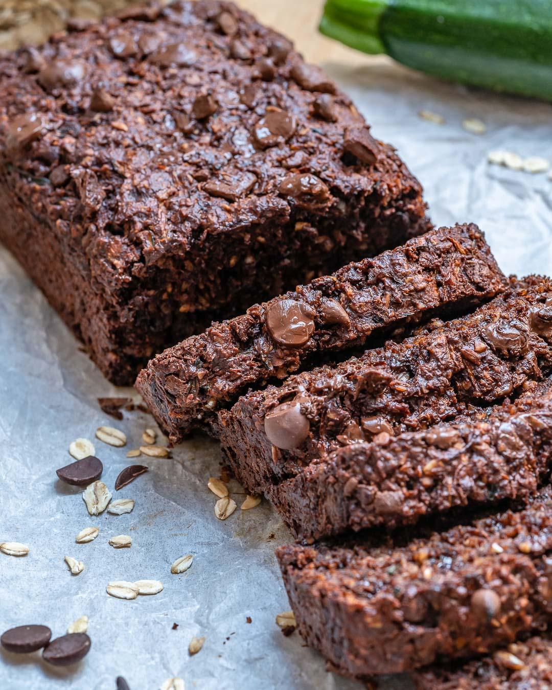 Easy Chocolate Zucchini Bread Recipe | Blondelish.com