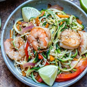 Garlic Shrimp And Zucchini Noodles - Whole30/Paleo Recipe 9